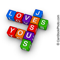あなた, 愛, イエス・キリスト