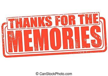 ありがとう, 記憶