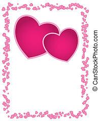 ∥あるいは∥, day., スペース, 空, 結婚式, カード, 心, 挨拶, ベクトル, バレンタイン, ピンク, 記念日