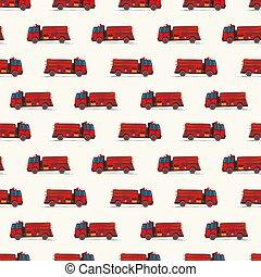 いたずら書き, トラック, パターン, 火