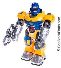 おもちゃの ロボット, 背景