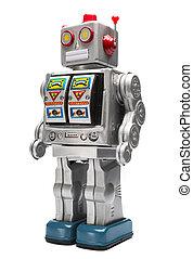 おもちゃの ロボット, 錫