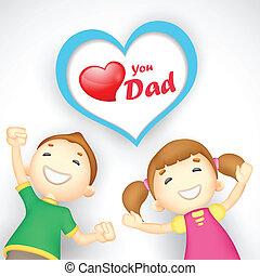 お父さん, あなた, 愛