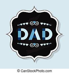 お父さん, バッジ, 単語, 手紙, 資本