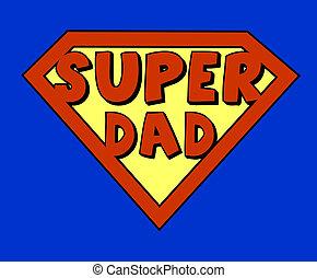 お父さん, 面白い, 極度, 保護