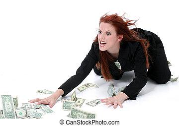 お金, 女性ビジネス