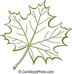 かえで, 葉, カナダ, pictogram