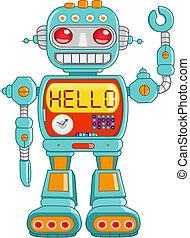 こんにちは, ロボット