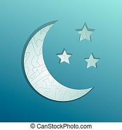 すてきである, 月