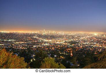 たそがれ, アンジェルという名前の人たち, スカイライン, カリフォルニア, los