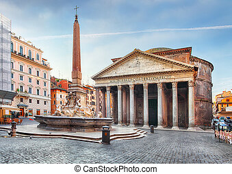 だれも, -, パンテオン, ローマ