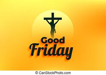 でき事, はりつけ, キリスト, 金曜日, 背景, よい, イエス・キリスト