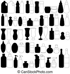 びん, 香水, ガラス, 容器