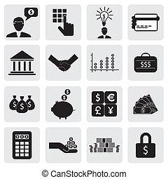 また, 富, セービング, icons(signs), 作成, 銀行, ビジネス, 金融, 出資金, ベクトル, &, graphic., 関係した, 缶, money(cash), お金, wealth-, 節約 カード, イラスト, 口座, 表しなさい, これ, 銀行業