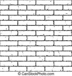 れんが, wall., texture., seamless