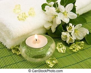ろうそく, 香り, aromatherapy