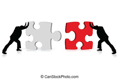 を経て, ビジネス, 成功, 困惑, 例証された, 概念, 達成, 一緒