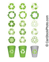 アイコン, リサイクルしなさい