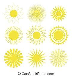 アイコン, 太陽 セット