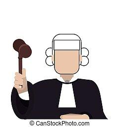 アイコン, 法廷裁判官