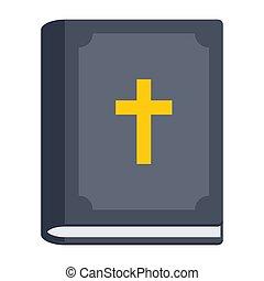 アイコン, 聖書, ベクトル
