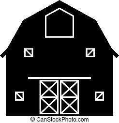 アイコン, 農場, 納屋