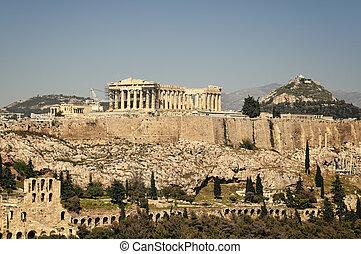 アクロポリス, アテネ, ギリシャ