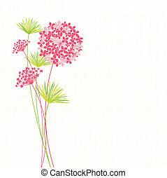 アジサイ, 花, 春, 背景
