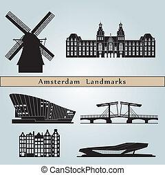 アムステルダム, ランドマーク, 記念碑