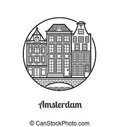 アムステルダム, 旅行, アイコン