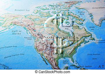 アメリカ人, 北, 経済
