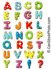 アルファベット, クッキー