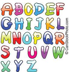 アルファベット, 幼稚