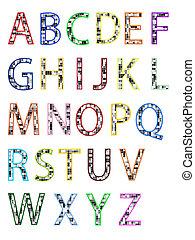 アルファベット, abc, -