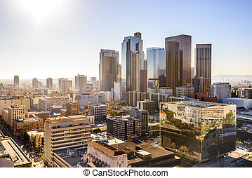 アンジェルという名前の人たち, アメリカ, ダウンタウンに, los, 都市の景観, カリフォルニア