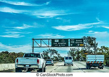 アンジェルという名前の人たち, 高速道路, 101, 交通, los