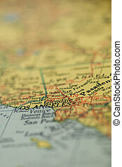 アンジェルという名前の人たち, los, カリフォルニア地図