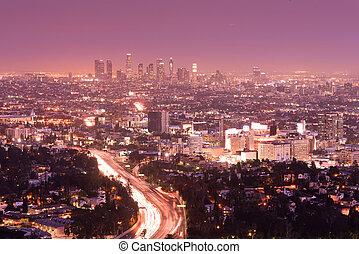アンジェルという名前の人たち, los, スカイライン, カリフォルニア, 都市