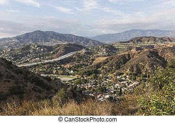 アンジェルという名前の人たち, los, glendale, カリフォルニア, 丘