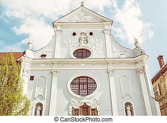 アンソニー, st. 。, 黄色のこし器, スロバキア, padua, kosice, 教会