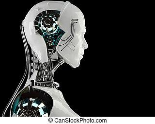 アンドロイド, 男性, ロボット