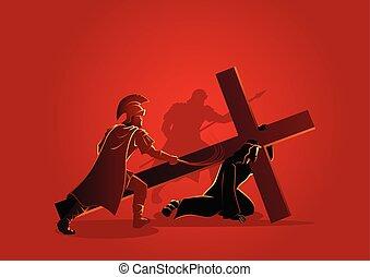 イエス・キリスト, 時間, 最初に, 落ちる