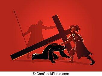 イエス・キリスト, 時間, 第3, 落ちる