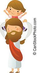 イエス・キリスト, 男の子, 届く, キリスト, ∥そうするべきである∥