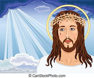 イエス・キリスト, -, 肖像画, キリスト, 復活