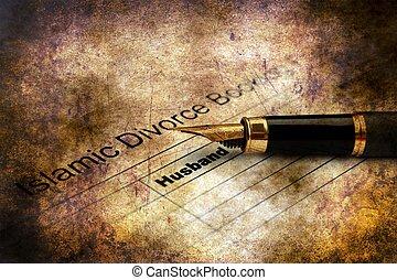 イスラム教, 概念, グランジ, 形態, 離婚