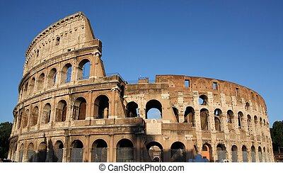 イタリア, コロシアム, 有名, rome(flavian, amphitheatre), colosseum, ∥あるいは∥