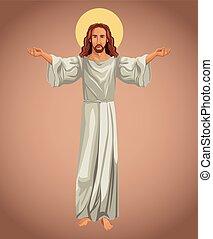 イメージ, 宗教, キリスト, イエス・キリスト