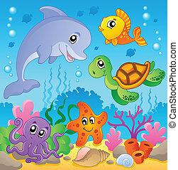 イメージ, 2, 主題, 海中の