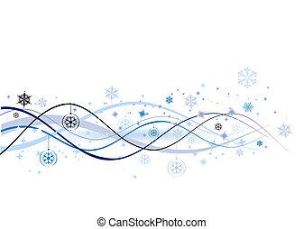 イラスト, クリスマス, 背景, ベクトル, デザイン, 休日, あなたの